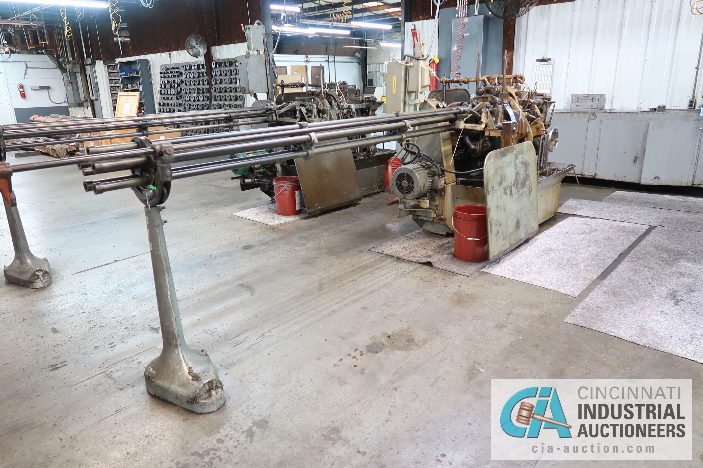"""3/4"""" DAVENPORT 5-SPINDLE SCREW MACHINE; S/N 8077 (NEW 11-1973), WITH THREADING CLUTCH, PICK OFF, - Image 4 of 4"""
