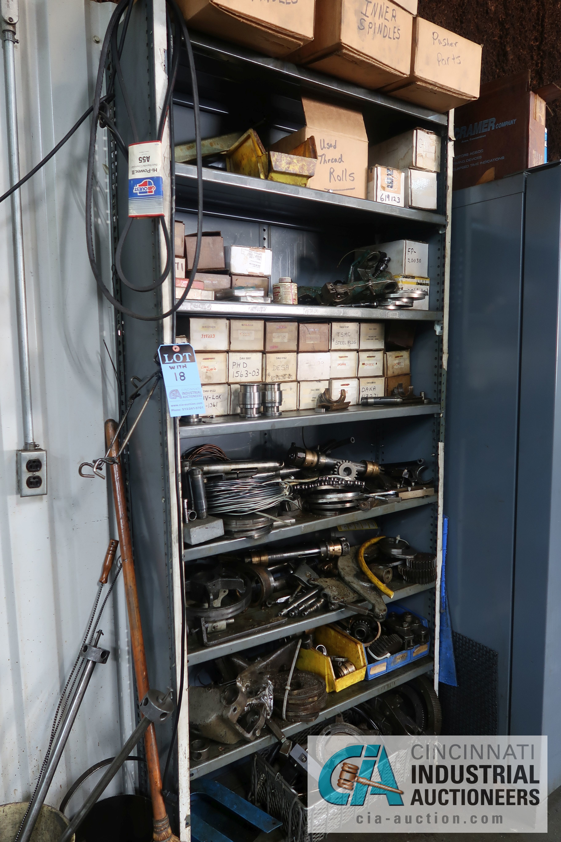 (LOT) LARGE ASSORTMENT MISCELLANEOUS DAVENPORT TOOLING, ATTACHMENTS, GEARS, CAMS AND OTHER RELATED - Image 12 of 21