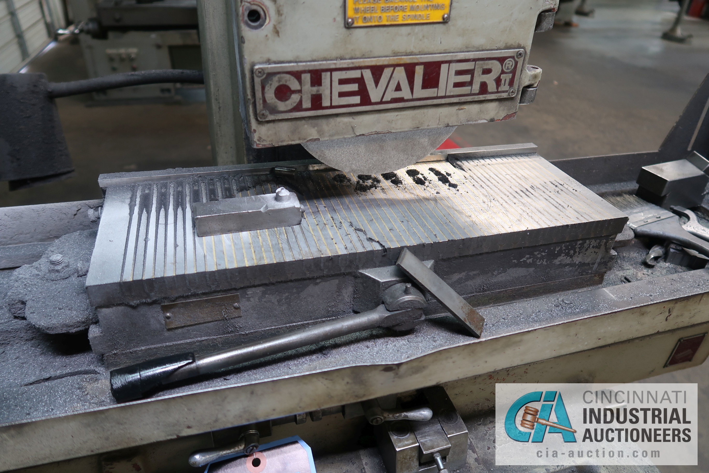 """6"""" X 18"""" CHEVALIER MODEL FSG618 HAND FEED SURFACE GRINDER; S/N 02C-5136 - Image 3 of 5"""