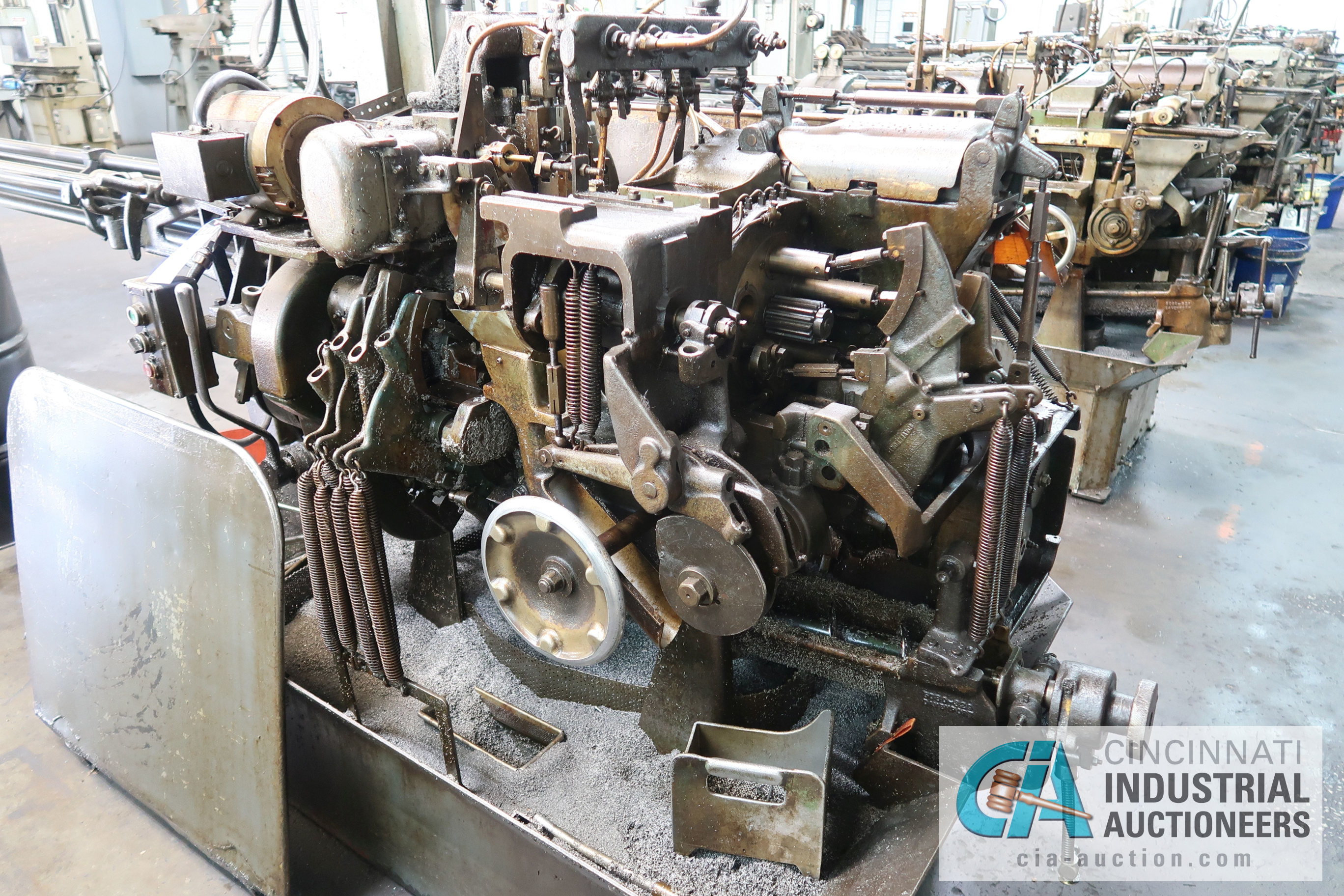 "Lot 6 - 3/4"" DAVENPORT 5-SPINDLE SCREW MACHINE; S/N 7884 (NEW 5-1973) WITH SPINDLE ALIGNMENT GEAR, 4TH"