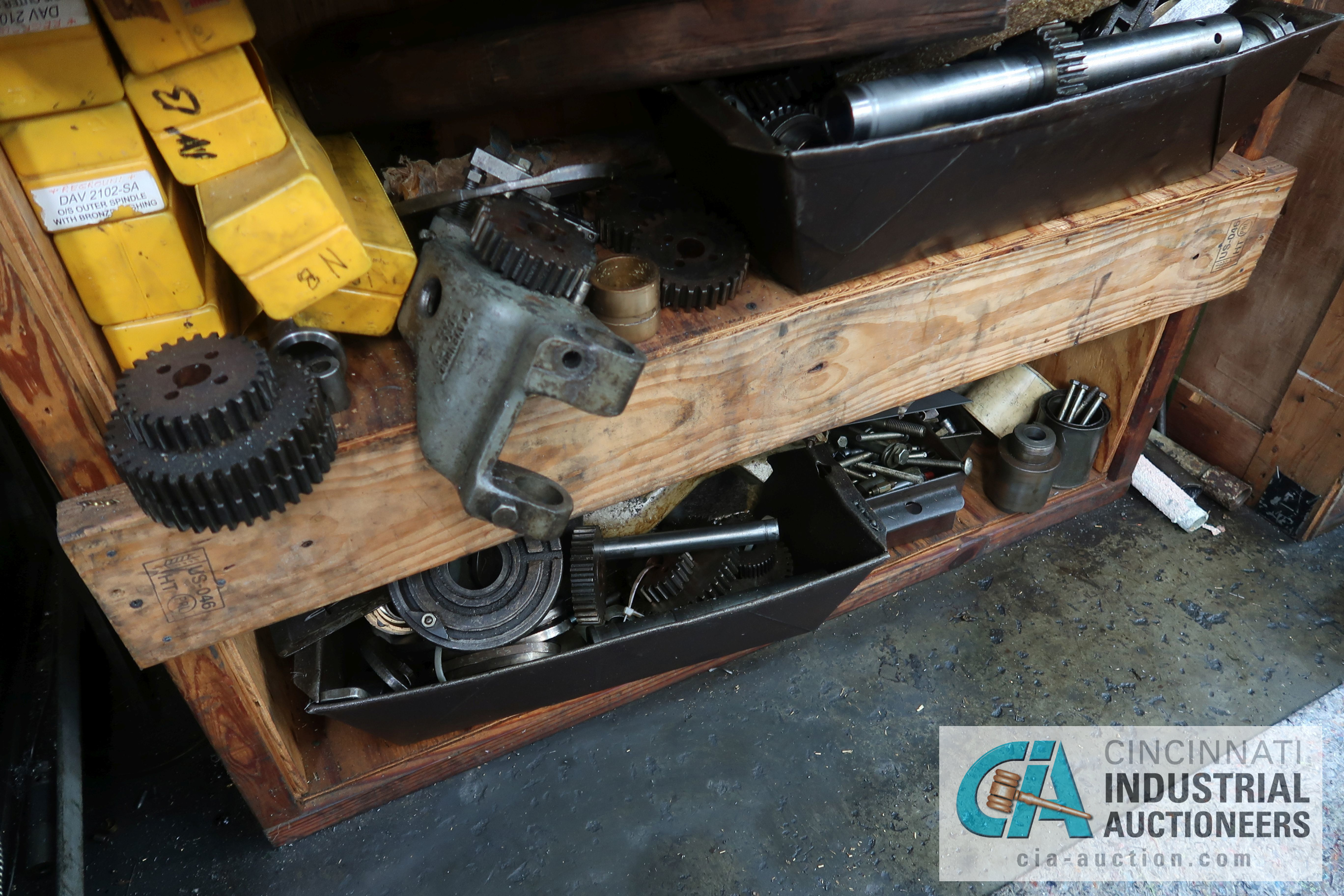 (LOT) LARGE ASSORTMENT MISCELLANEOUS DAVENPORT TOOLING, ATTACHMENTS, GEARS, CAMS AND OTHER RELATED - Image 7 of 21