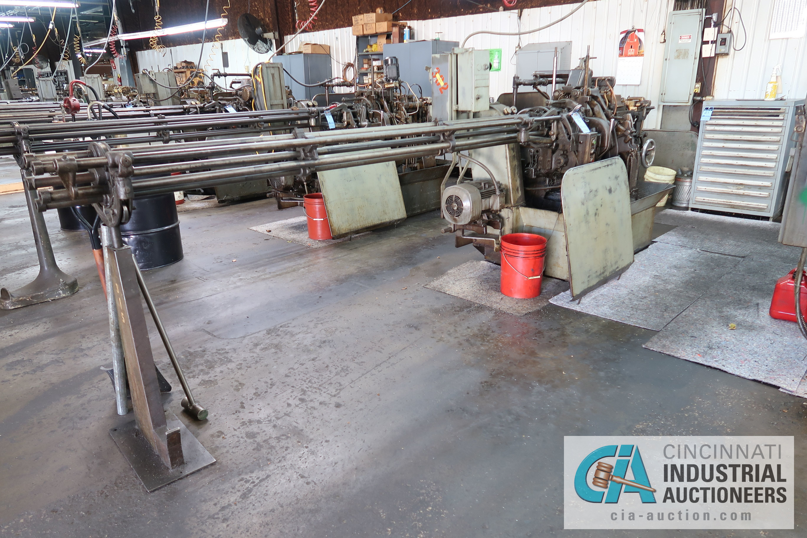 """3/4"""" DAVENPORT 5-SPINDLE SCREW MACHINE; S/N 110012 (NEW 11-1981), WITH THREAD CLUTCH, PICK OFF, - Image 3 of 3"""