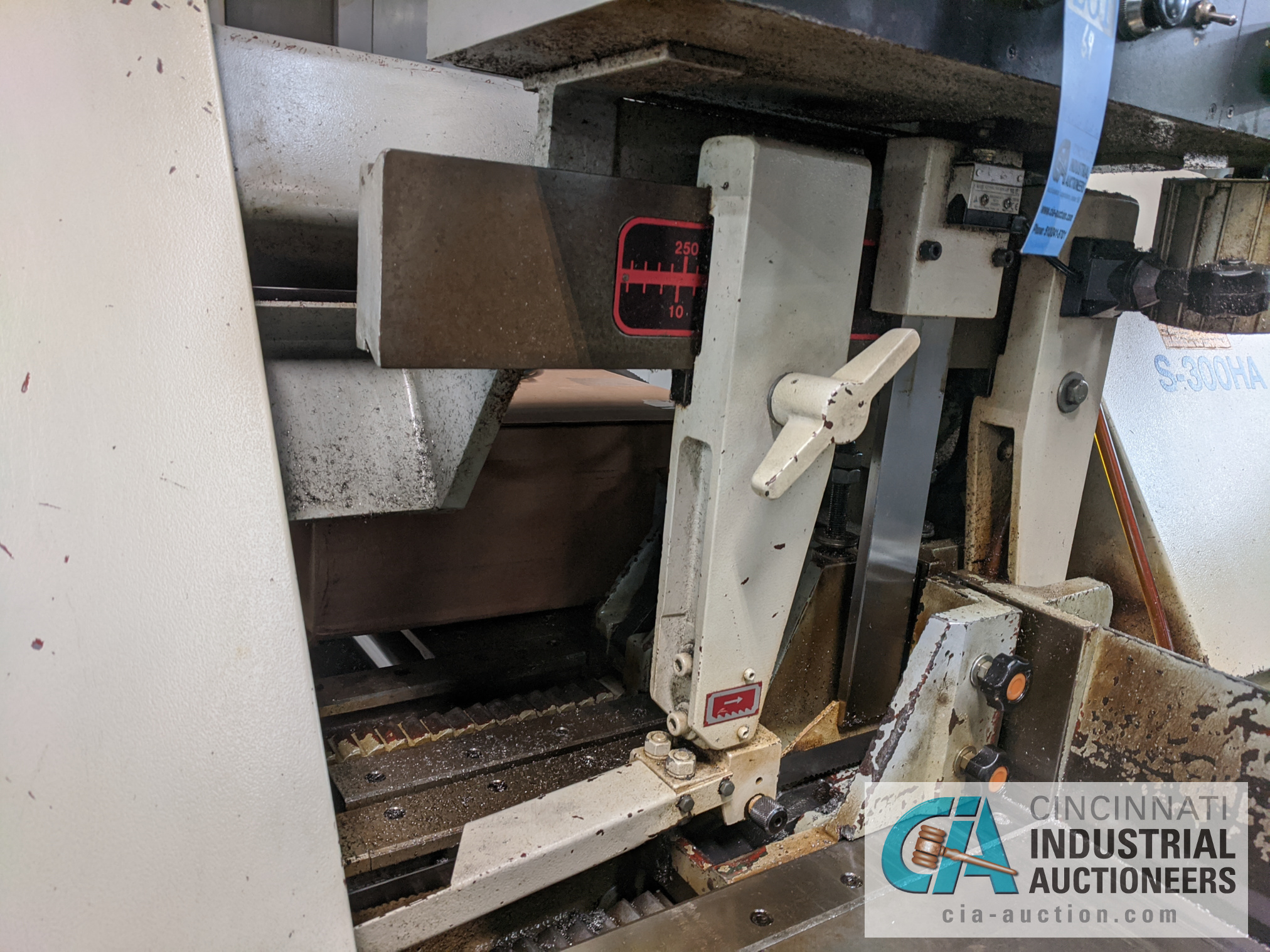 "10"" X 12"" MASTER CUT MODEL S-300HA AUTOMATIC HORIZONTAL BAND SAW - Image 8 of 9"
