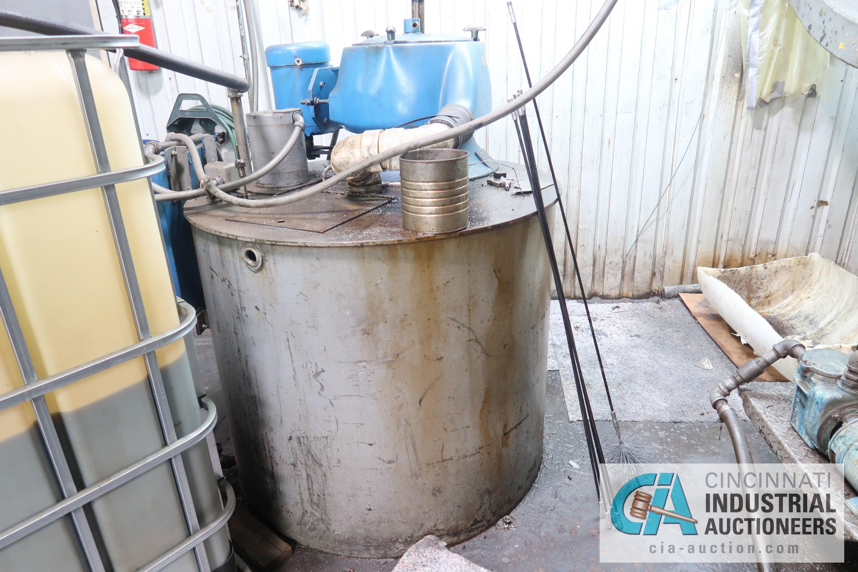 Lot 35 - BARRETT CENTRIFUGAL MODEL CHIP WRINGER & OIL RECLAMATION SYSTEM; S/N 136385F, WITH BARRETT