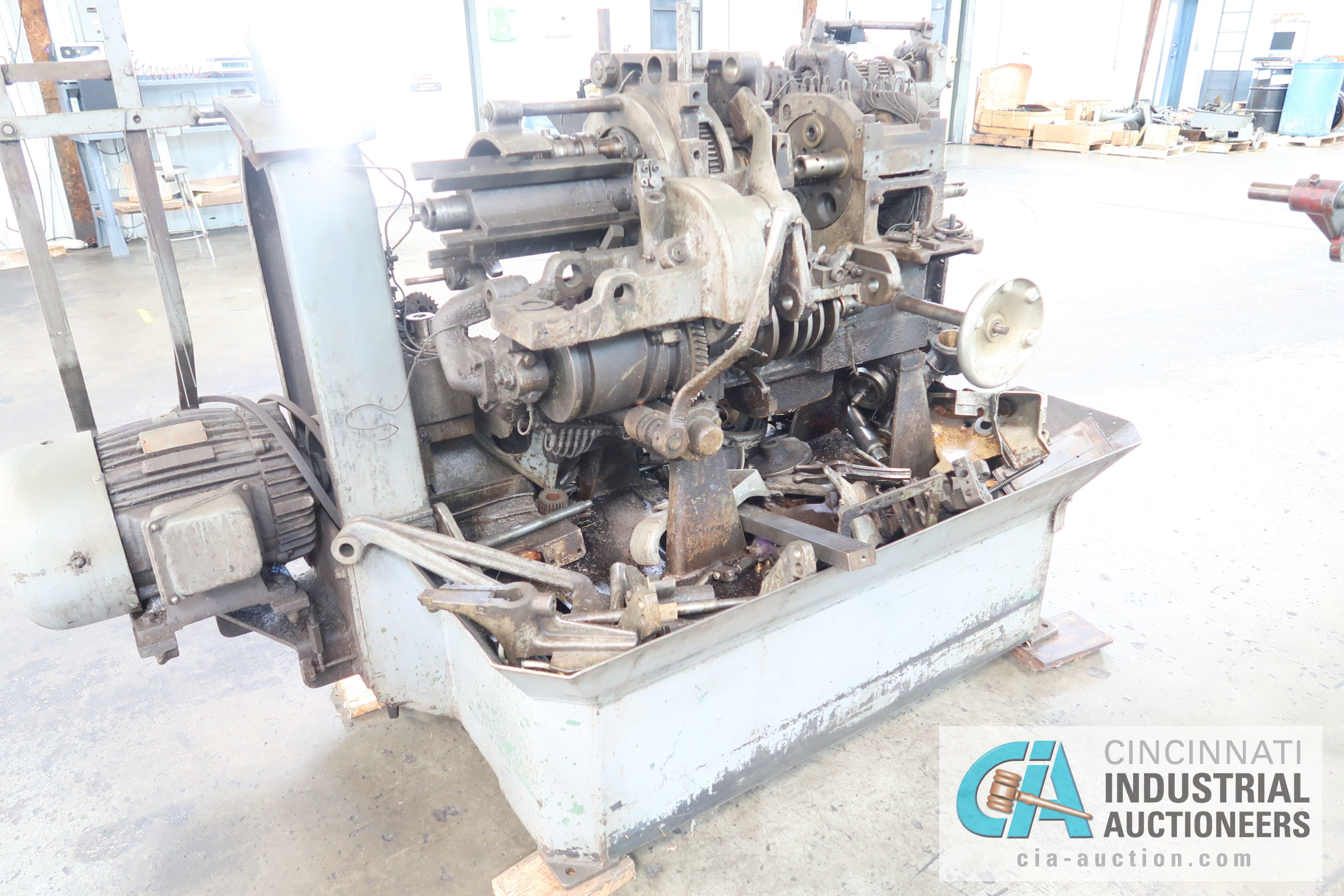 """3/4"""" DAVENPORT 5-SPINDLE SCREW MACHINE; S/N 7072 **THIS MACHINE IS PARTS ONLY SCREW MACHINE** - Image 2 of 2"""