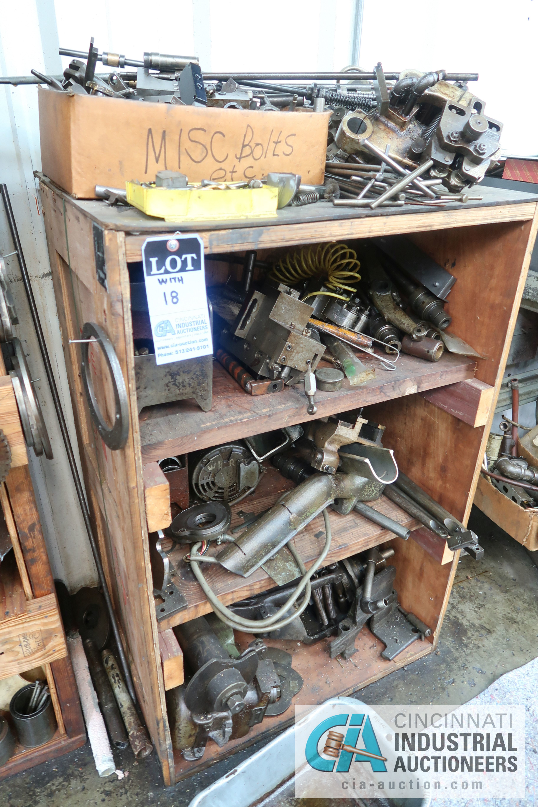 (LOT) LARGE ASSORTMENT MISCELLANEOUS DAVENPORT TOOLING, ATTACHMENTS, GEARS, CAMS AND OTHER RELATED - Image 8 of 21
