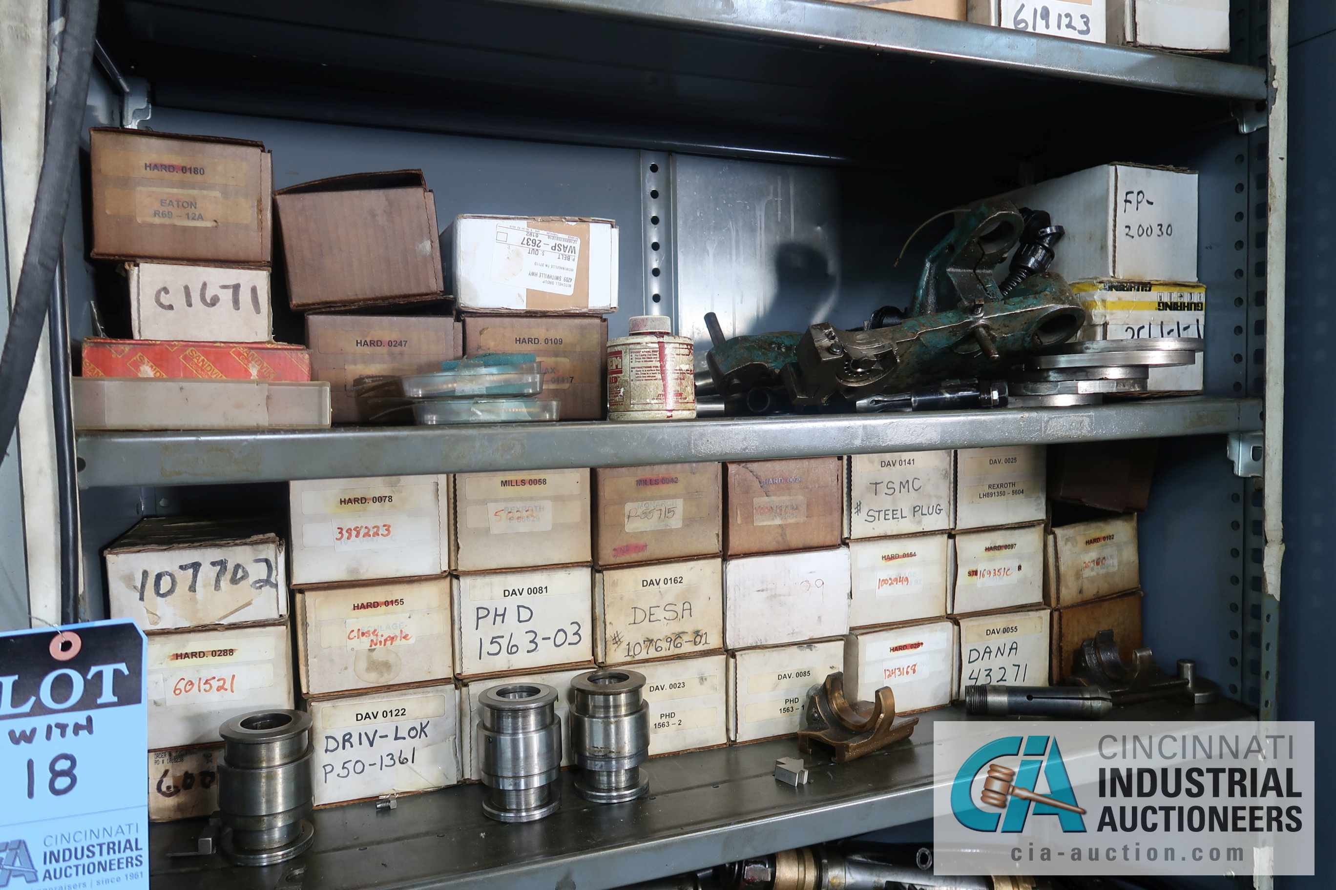 (LOT) LARGE ASSORTMENT MISCELLANEOUS DAVENPORT TOOLING, ATTACHMENTS, GEARS, CAMS AND OTHER RELATED - Image 13 of 21