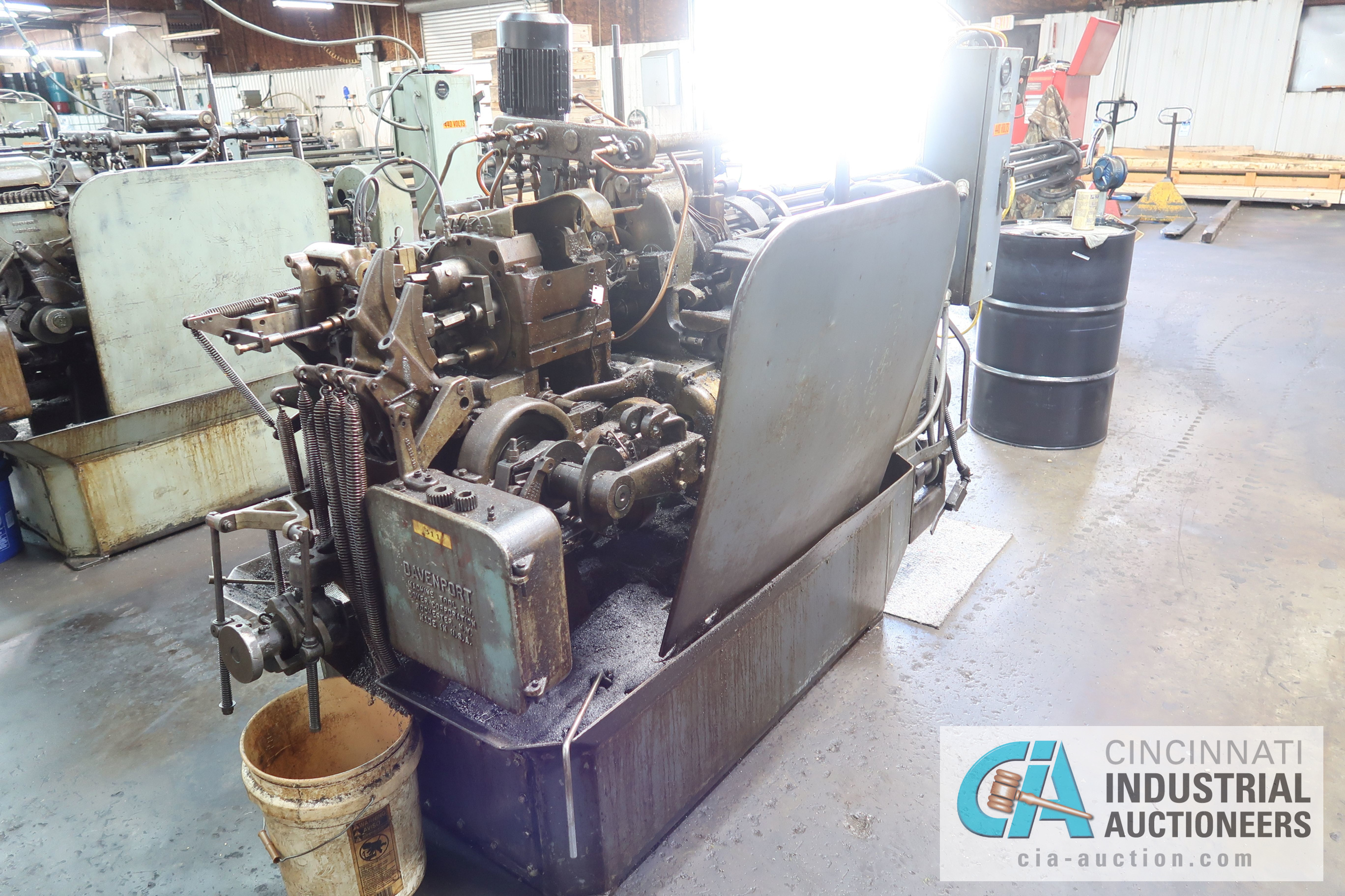 """Lot 7 - 3/4"""" DAVENPORT 5-SPINDLE SCREW MACHINE; S/N 4172 (NEW 10-1960), WITH PICK OFF, DEBURR, 4TH POS."""