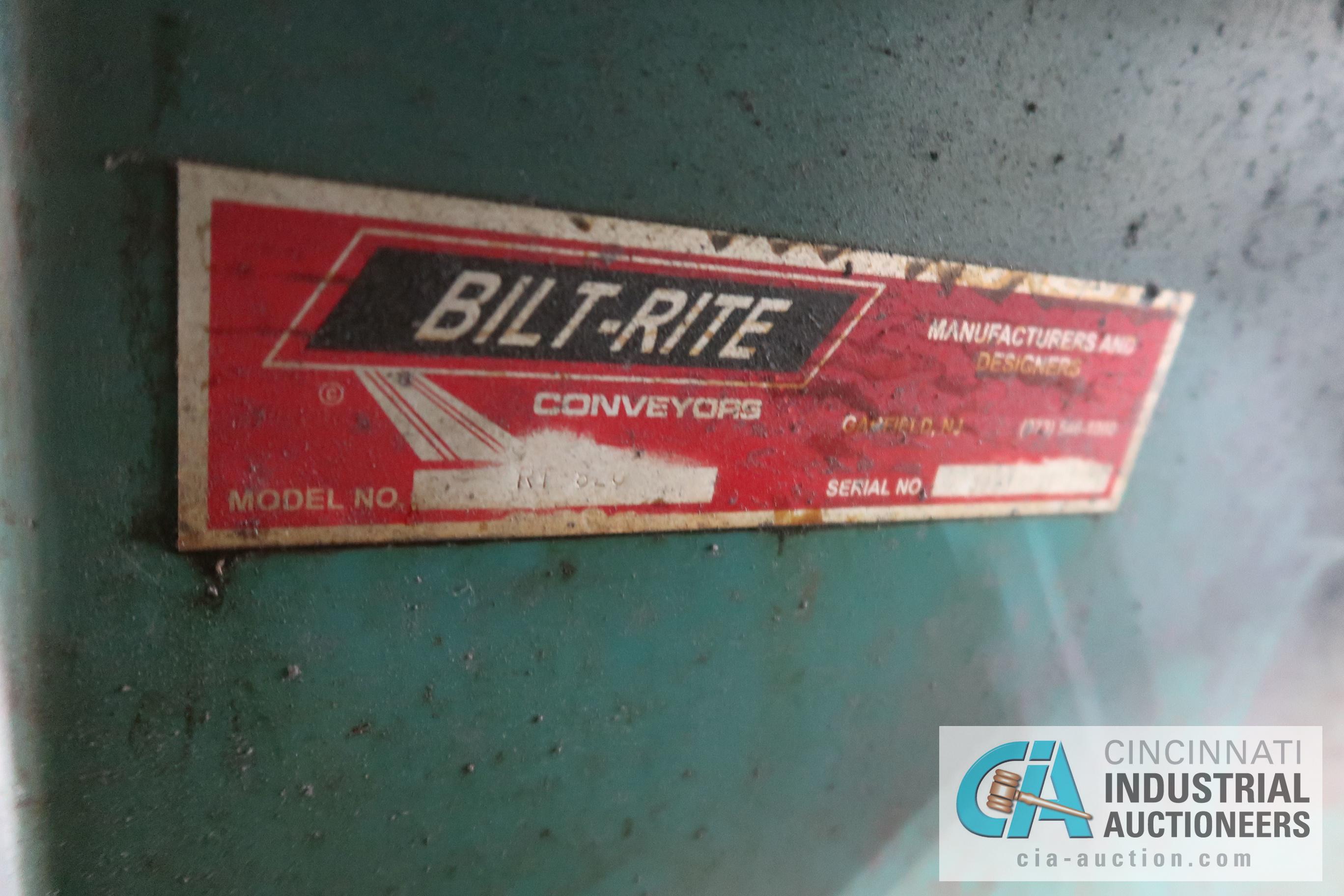 """48"""" DIAMETER BILT-RITE MODEL RT820 FLOOR TURN TABLE; S/N 32209 - Image 2 of 2"""