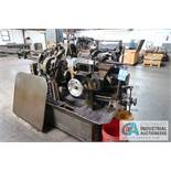 "3/4"" DAVENPORT 5-SPINDLE SCREW MACHINE; S/N 5698, WITH PICKOFF ATTACHMENT AND THREADING CLUTCH,"