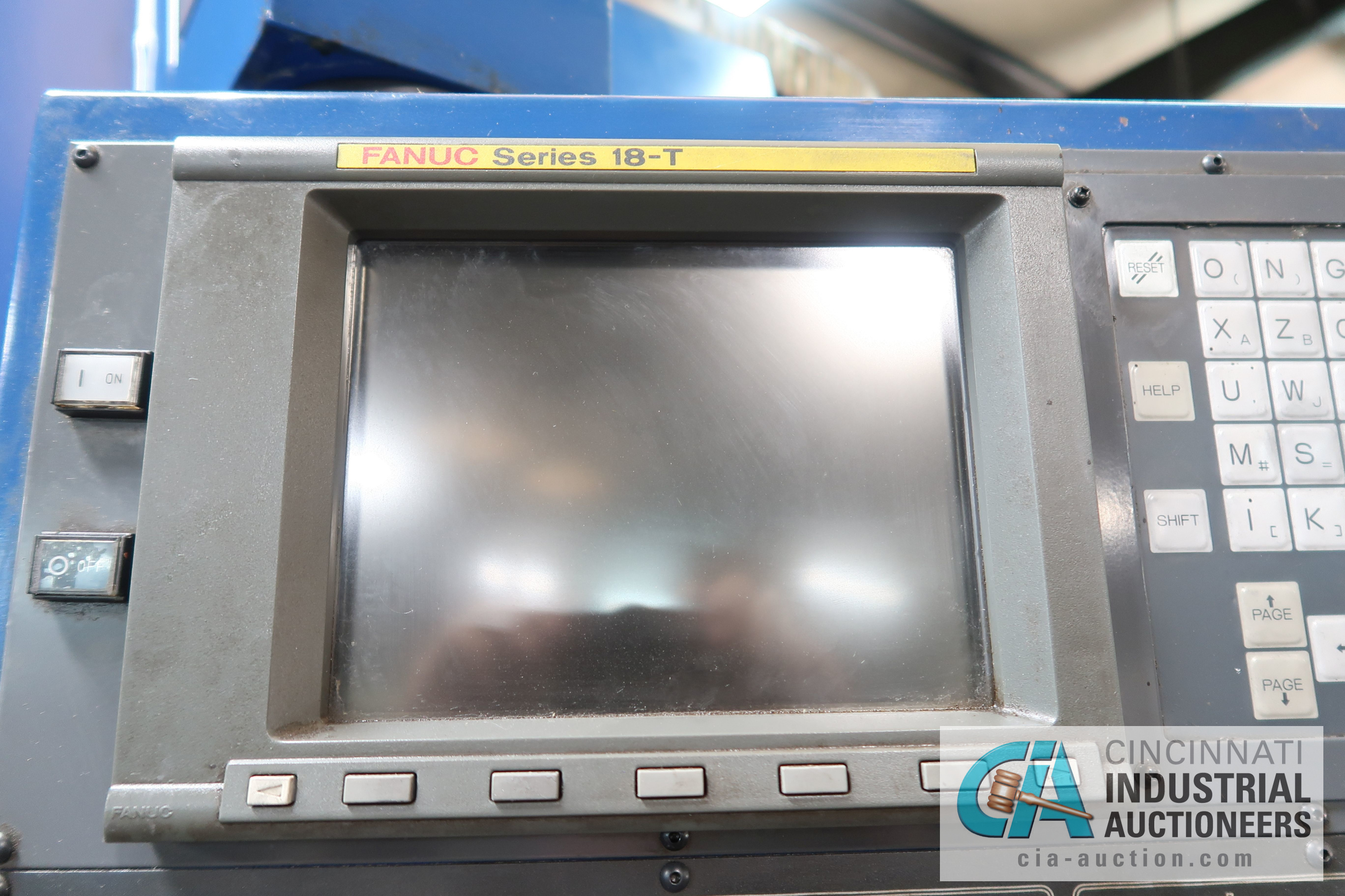 "JOHNFORD MODEL ST-70 SLANT BED CNC LATHE; S/N TT0013 (NEW 2000), 12"" CHUCK, 36"" SWING OVER BED, - Image 13 of 21"