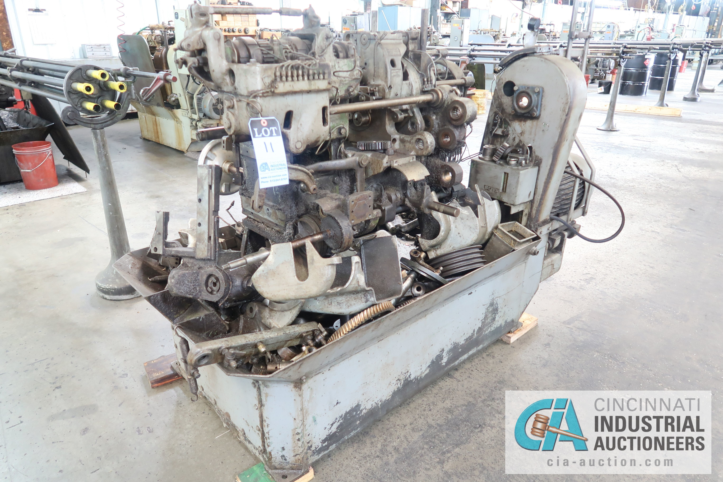 """3/4"""" DAVENPORT 5-SPINDLE SCREW MACHINE; S/N 7072 **THIS MACHINE IS PARTS ONLY SCREW MACHINE**"""