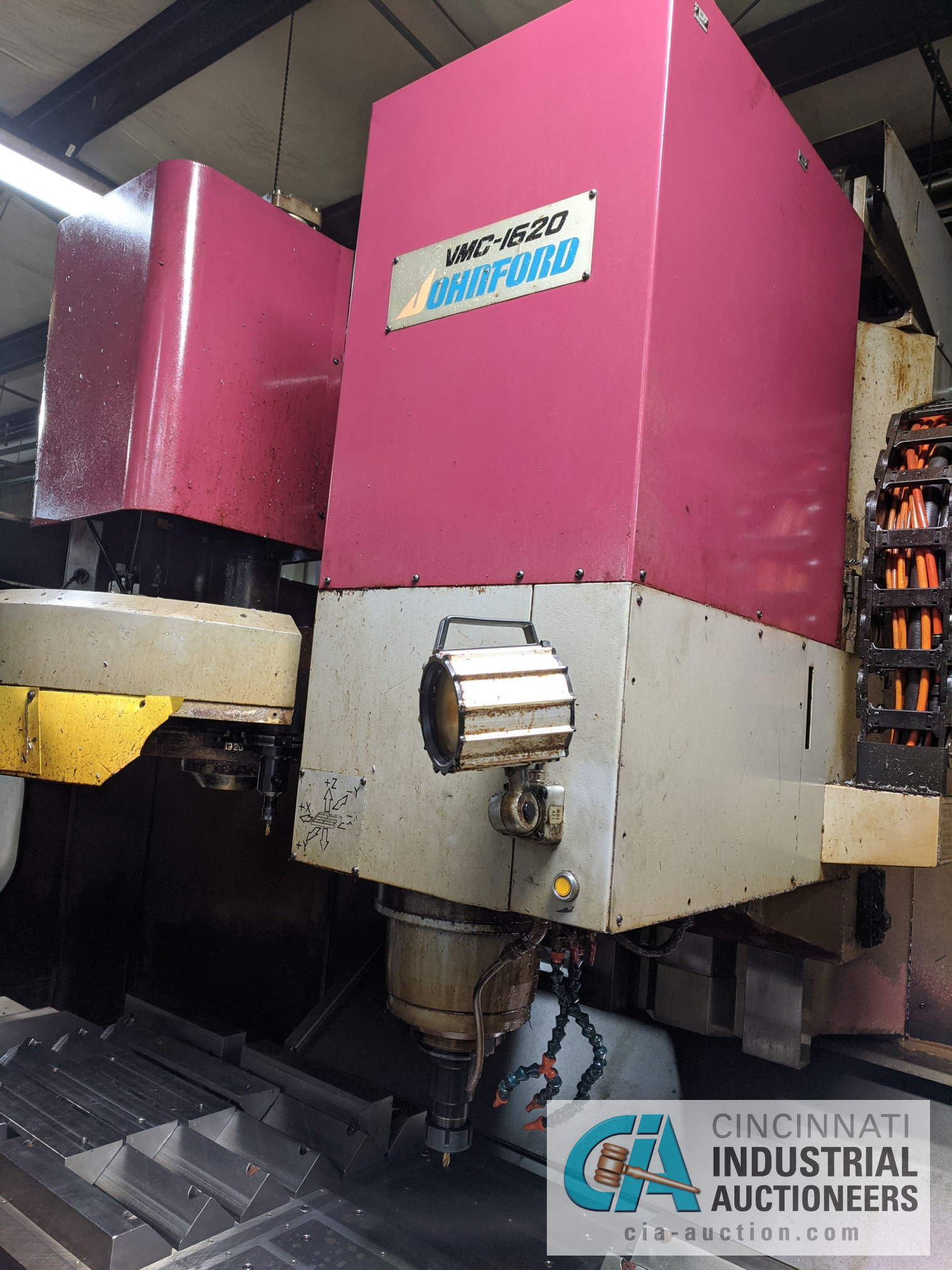 (Former lot 31) JOHNFORD MODEL VMC1620 CNC VMC; S/N F6052 (NEW 1996), Magnetic Chuck Not Included - Image 11 of 16