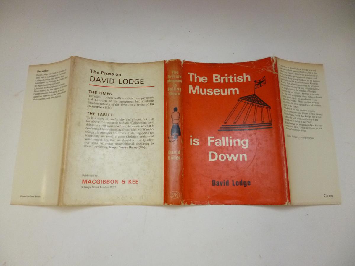 拍賣品 128 - DAVID LODGE: THE BRITISH MUSEUM IS FALLING DOWN, 1965, 1st edn, orig cl, d/w