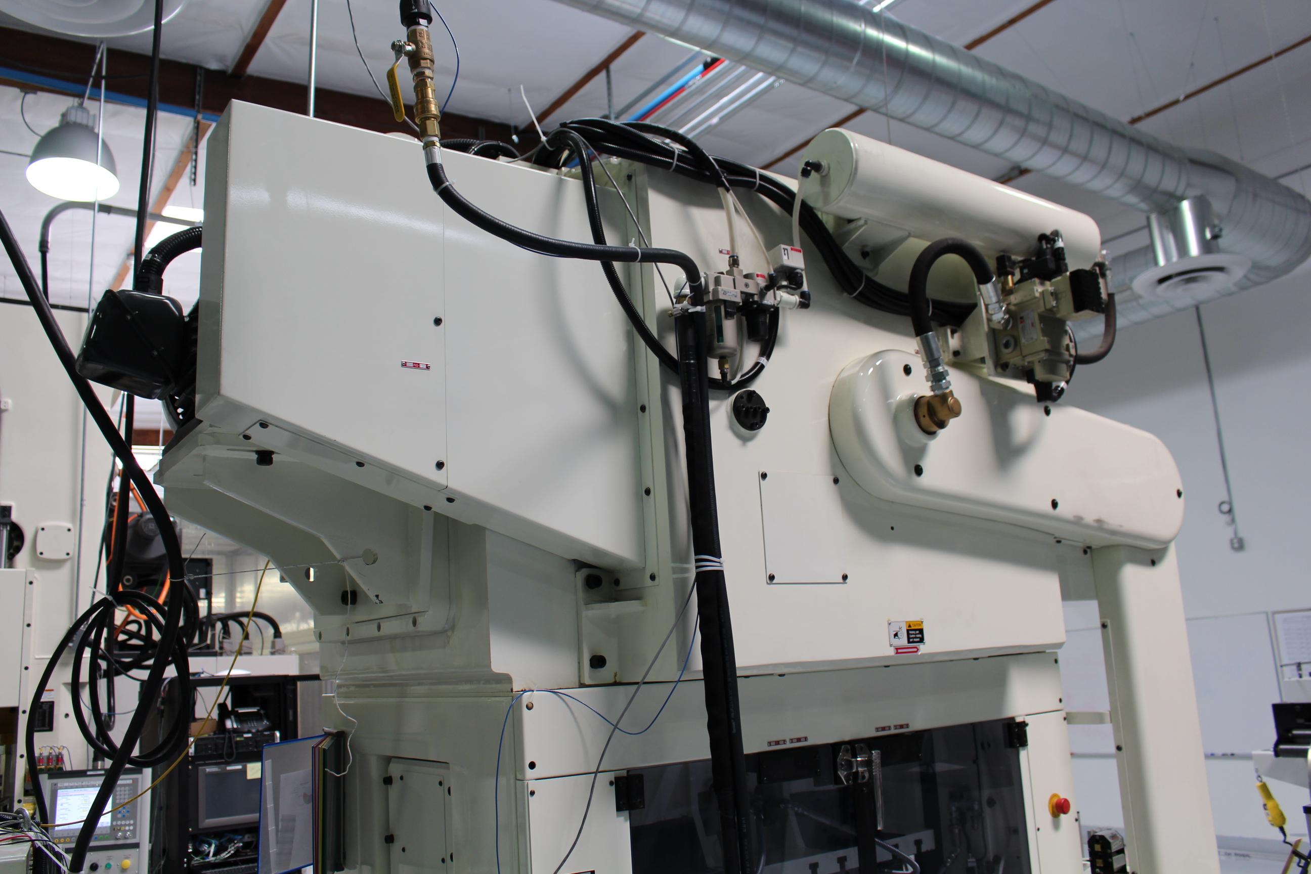 Lot 2 - 2012 NIDEC MINSTER HIGH SPEED STAMPING PRESS, KYORI SERIES, MODEL ANEX-60 II, 650 SPM