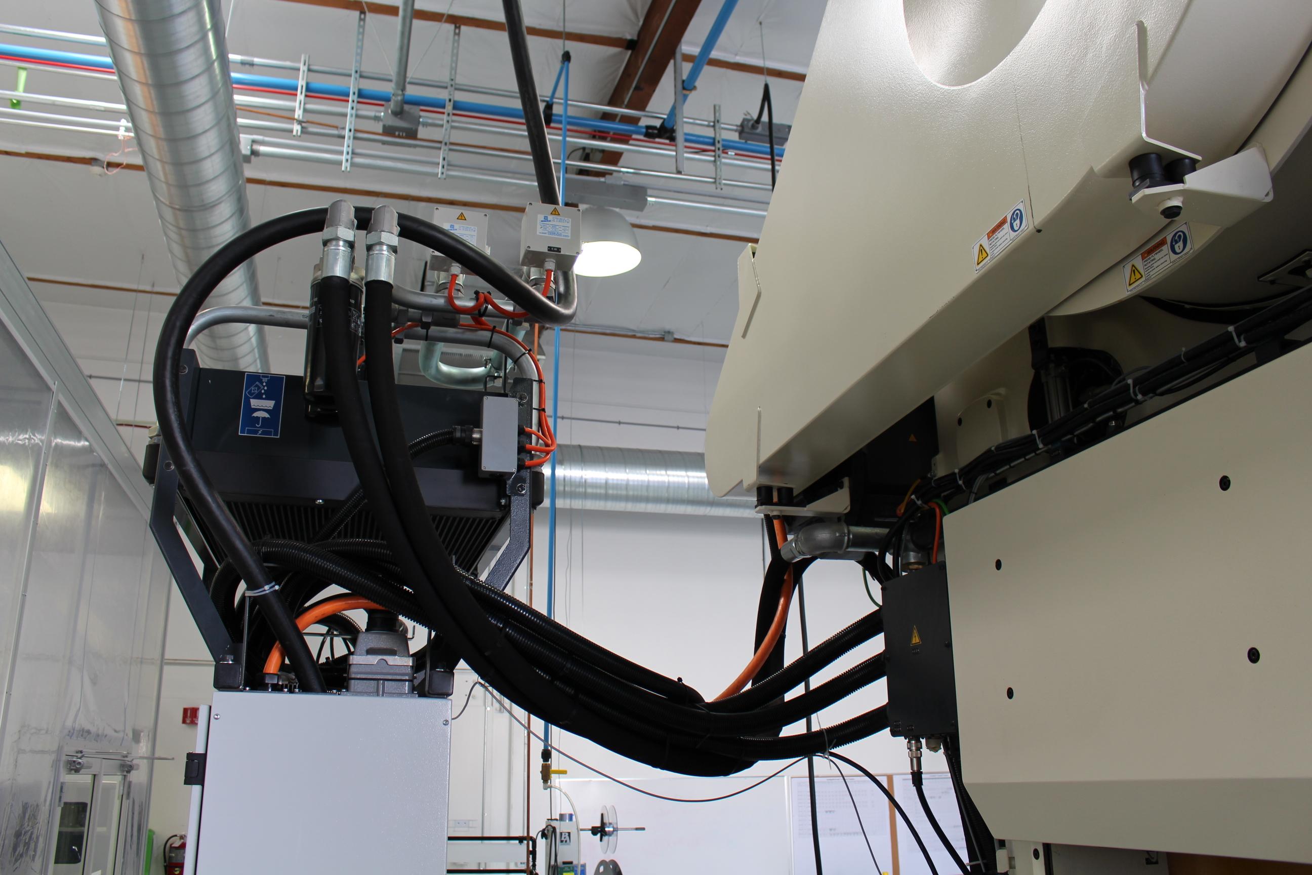 Lot 1 - 2014 BRUDERER HIGH SPEED STAMPING PRESS, MODEL BSTA 1250-151, 1250 KN TON, B2 CONTROL, 600 SPM