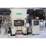 Lot 2 - 2012 NIDEC MINSTER HIGH SPEED STAMPING PRESS, KYORI SERIES, MODEL ANEX-60 II, 650 SPM