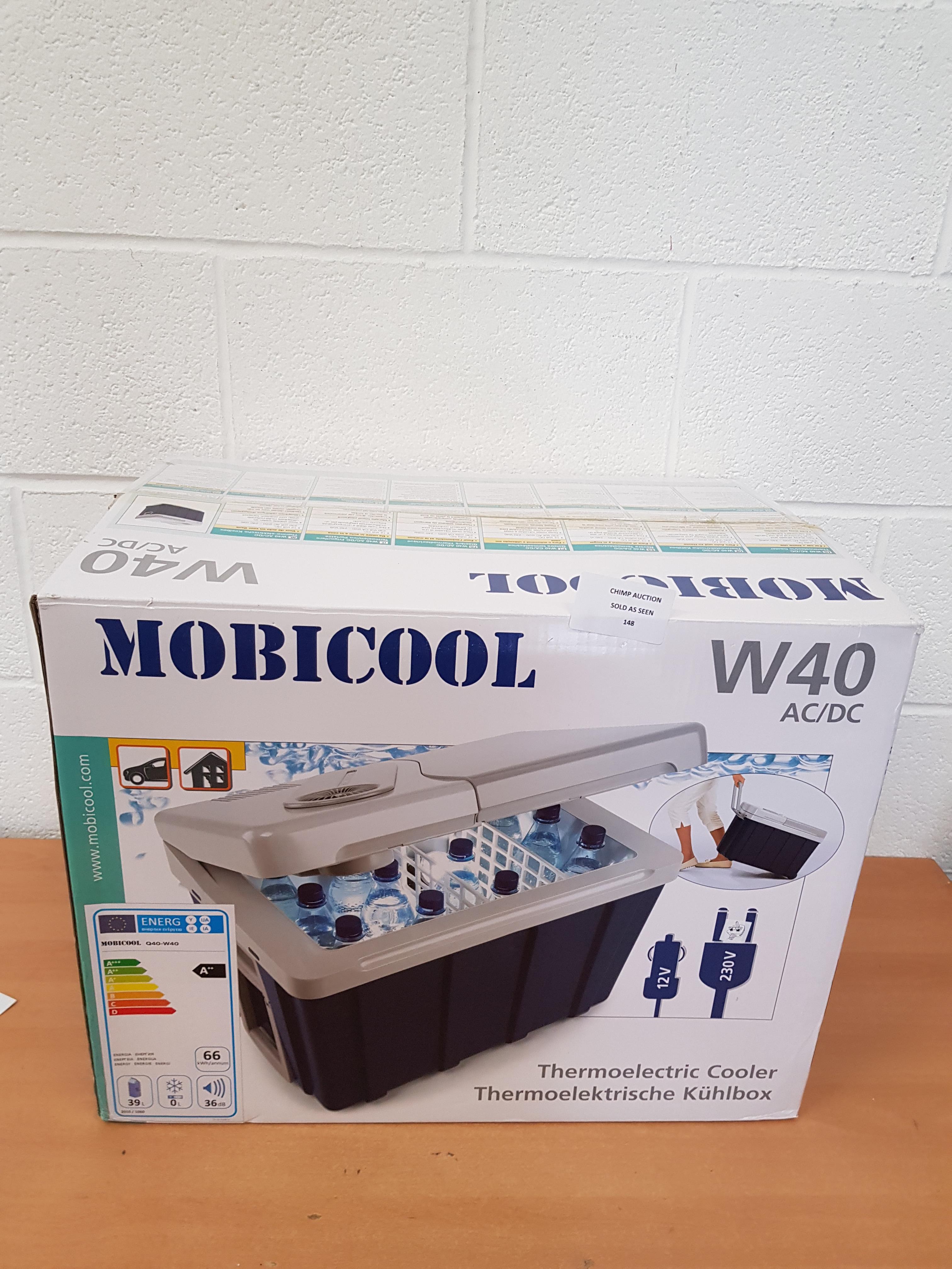 Lot 148 - Mobicool W40 Coolbox 12 V/230 V RRP £149.99