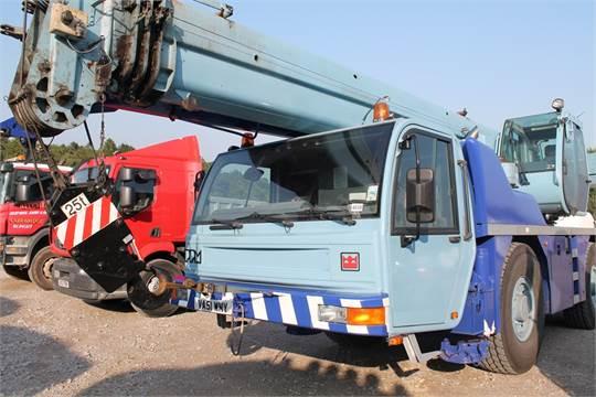 terex ppm att 400 3 crane 10499cc truck reg no va51wmy d f r rh i bidder com