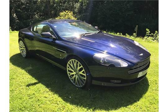 A 2005 Aston Martin Db9 Mk I Registration Number Bu05 Cwl Midnight Blue Aston S Db9 Was The Fi