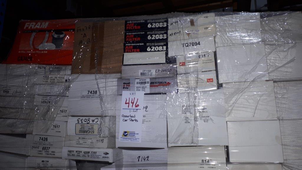 Lot 446 - Assorted car parts (Lot)