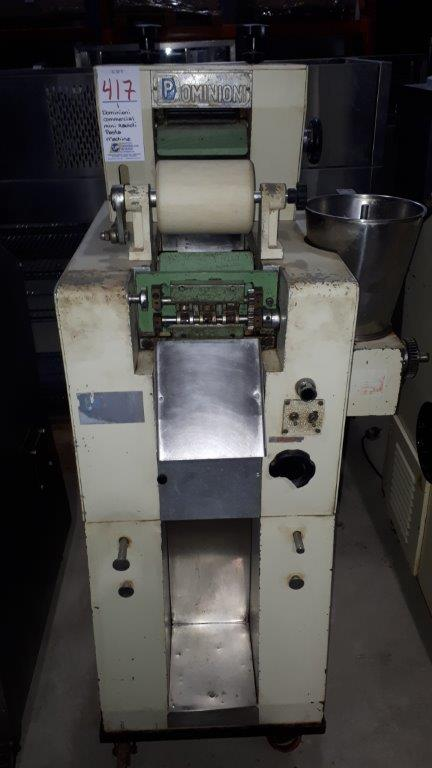 Lot 417 - Dominioni Commercial mini ravioli pasta machine