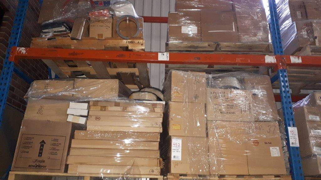 Assorted car parts (Skids)