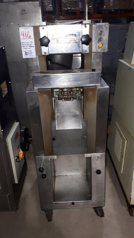 Lot 416 - Dominioni S/S Commercial ravioli pasta machine, model: T140