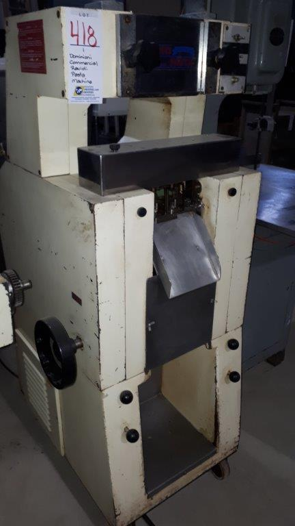 Lot 418 - Dominioni Commercial ravioli pasta machine