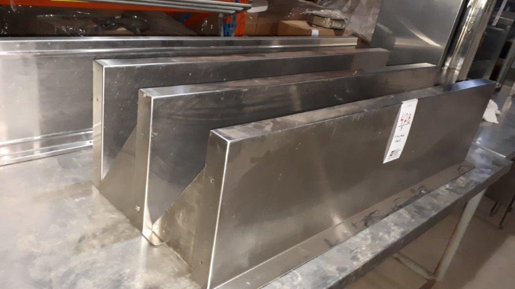 Lot 428 - Stainless shelf