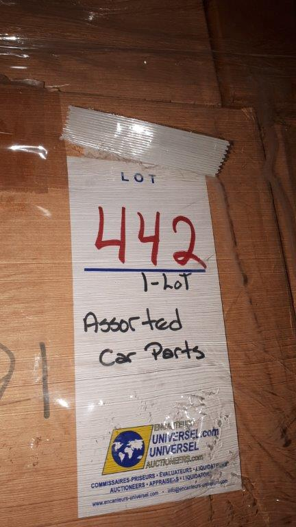 Lot 442 - Assorted car parts (Lot)