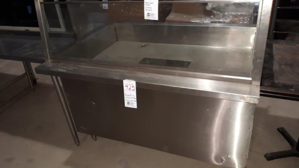 Lot 423 - Electric steamtable TCB-54-EE