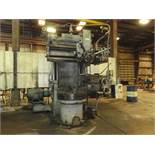 """King 36"""" Vertical Turret Lathe, 36"""" 4-jaw Table,"""