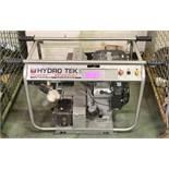 Hydro Tek Pro 1-800-27HYDRO Petrol Pressure Washer.