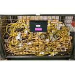 27x Festoon 6 Plug String Lighting 110V.