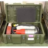 Grindex Minex TypeG1005 Submersible Pump Hose 110V In a Case.