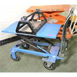 HanseLifter Mobile Lifting Platform Trolley With Reel Winder.