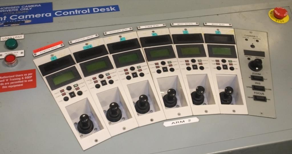 Ex Nuclear Plant Reactor Control / Monitoring System - Image 19 of 25