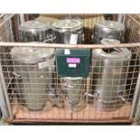 6x Insulated Tea Urns - Not heated.
