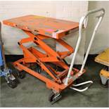 Mobile Platform Lift L1120 X W520mm - In need of attention.