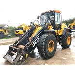 JCB 437ZX WHEELED LOADER, year of manufacture 2015