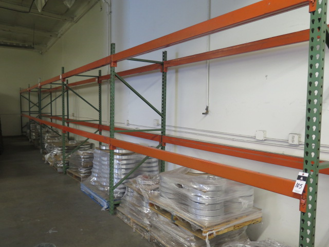 Lot 105 - Pallet Racking (5-Sections)