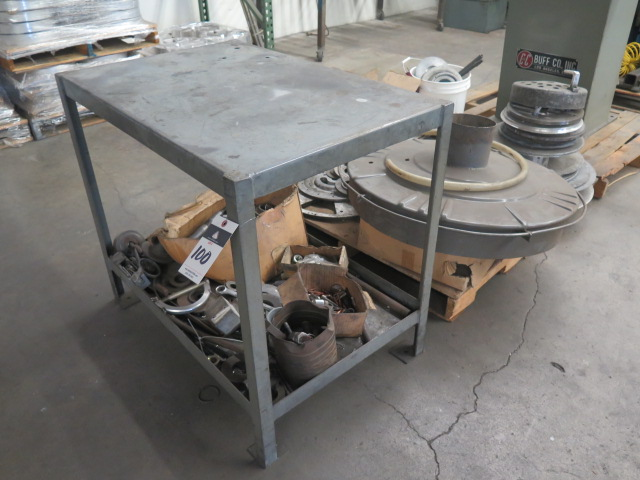 Lot 100 - Bench and Misc on Pallet