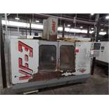 "Haas VF-3, Retro'd control, 40""x 20""x 20"" Travels, CT40, New 1997 *Indexer Sold Separate*"