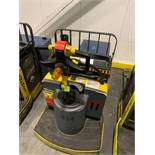Hyster pallet jack with batter and charger; 8958 HOURS
