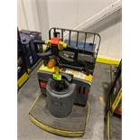 Hyster pallet jack with batter and charger; 8032 HOURS