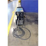 MIG WELDER, MILLER MILLERMATIC MDL. 150, 120 amps @ 21 v. rated output, 30% duty cycle, MIG torch,