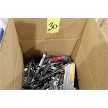 LOT OF HAND TOOLS (in one box)