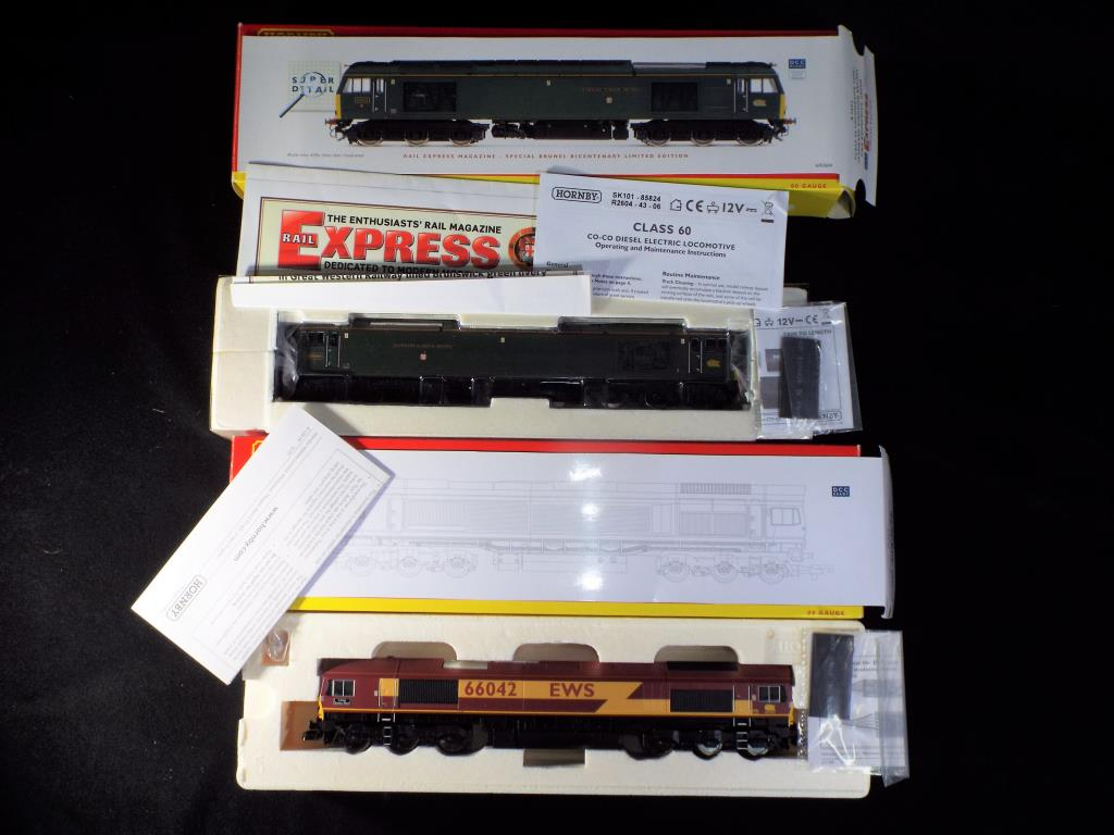 Lot 23 - Hornby - 2 boxed OO Gauge Diesel Electric Locomotives.