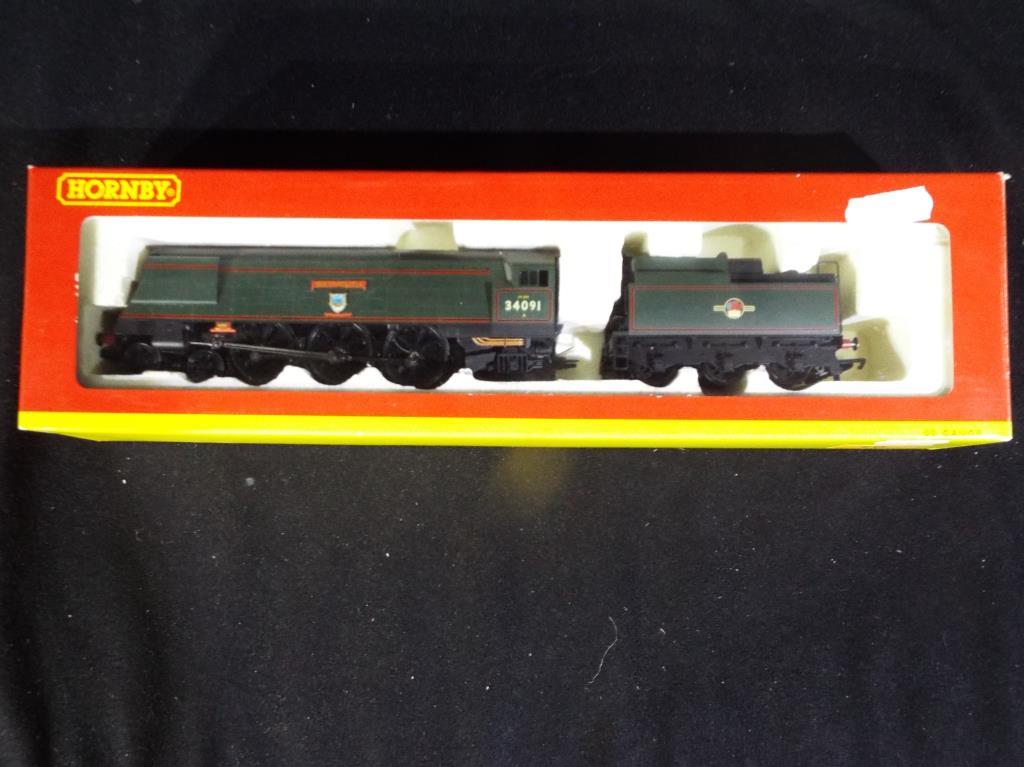 Lot 10 - Model Railways - Hornby OO gauge R2282 B.R. 4-6-2 West Country Class Weymouth op.no.